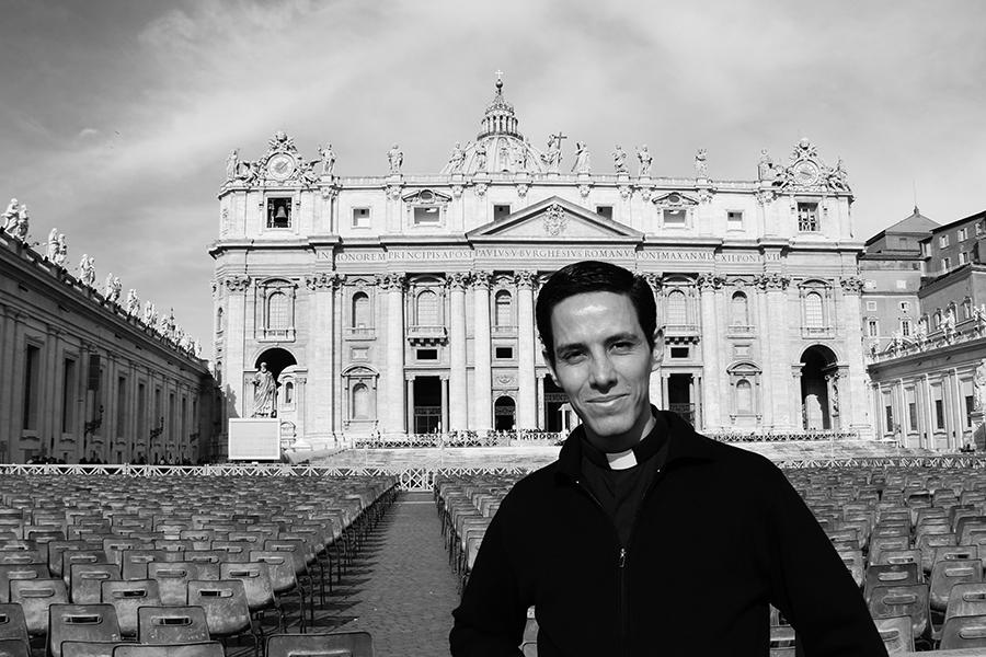 P. Nicolás Núñez, LC, en Roma